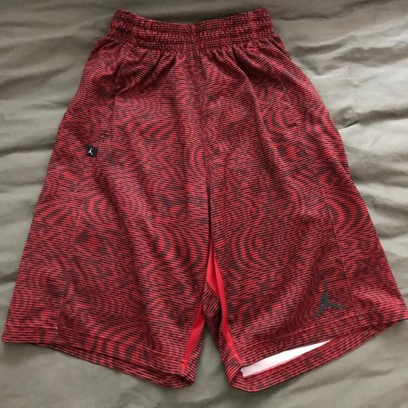Jordan Other - Jordan Dri-fit Red Camo Basketball Short Men Small 5976bb230cc9