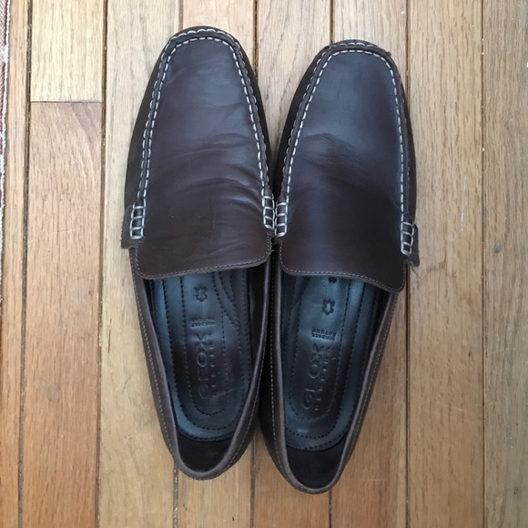 eed2837af7 Geox Shoes   Mens Respira Patent Leather Moccasins   Poshmark