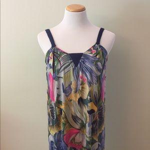 Missoni Dresses & Skirts - Missoni Vintage Silk Maxi Dress Size M