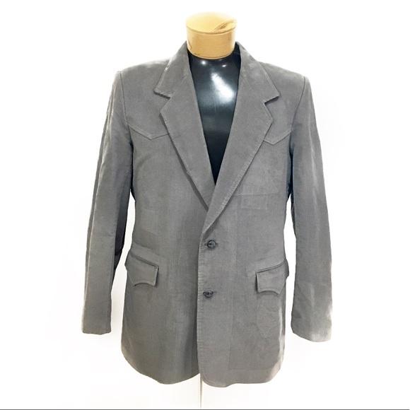 Mens Vintage Blazer 36R 100% Wool Black White Pinstripe Sports Coat Suit Jacket Free US Shipping PrJQ7IjPZ
