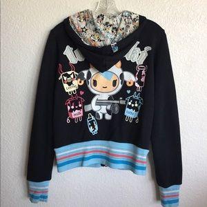 tokidoki Jackets & Blazers - TOKIDOKI | Zip Up Hoodie