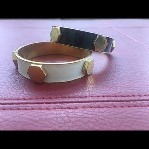 CC Skye Jewelry - CC skye bracelet bangles black white gold