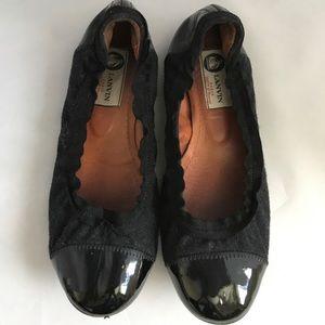 Lanvin Shoes - Lanvin flats black size 36 ballet ballerina shoes