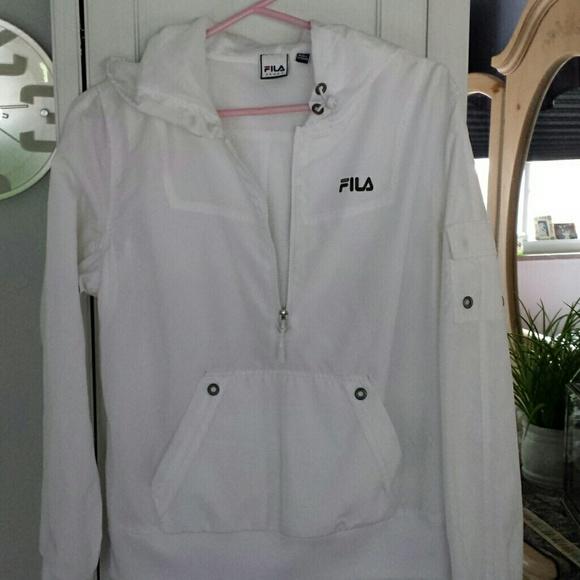 buy \u003e fila windbreaker white, Up to 79% OFF