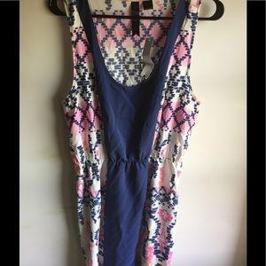 NY Boutique Multicolor Knee Length Dress