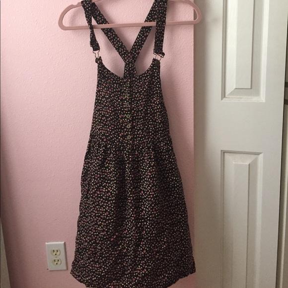 c129c0f2e2 Floral Overall Dress - Target. M 5921f4104e8d1741e4097b9b