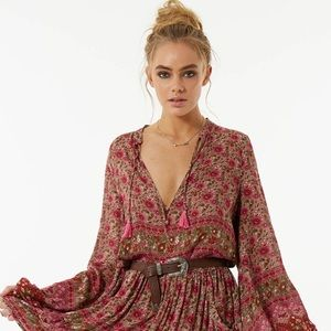 Spell & The Gypsy Collective Tops - Spell Designs Kombi Spice Blouse S