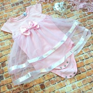 Other - Boutique Baby Girl Romper Dress