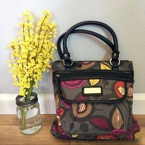 Relic Handbags - NWOT RELIC Gray Floral Purse