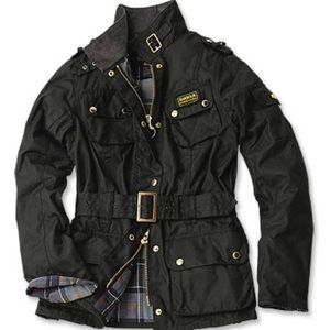 Barbour Jackets & Blazers - BARBOUR Waxed Trench Jacket Black