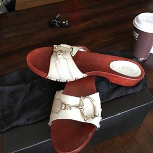Guidi Shoes - Gucci flat clogs