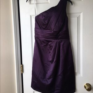 David's Bridal Dresses & Skirts - Purple Davids Bridal dress