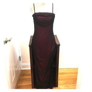 Dresses - Beautiful! maroon dress sz 6 excellent condition!!