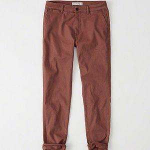 Abercrombie & Fitch Pants - Boyfriend chino pants