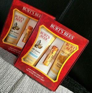 Burt's Bees Baby Other - Burt's bees honey pot kit with a freebie