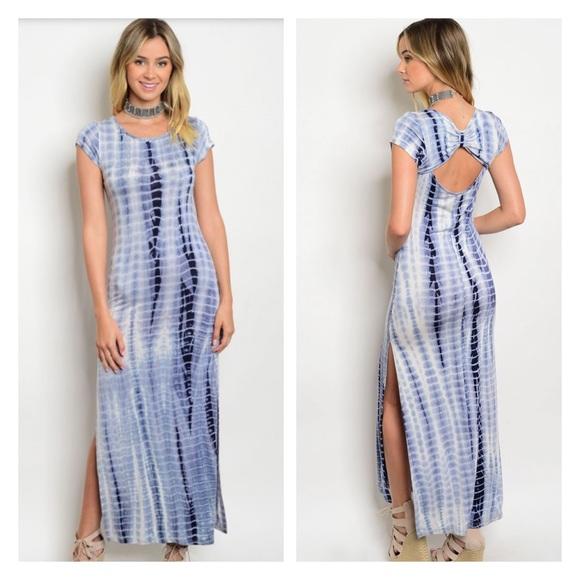 ec2ada513ef 🔴CLEARANCE Tie dye maxi dress