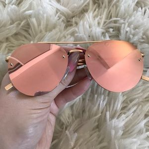 3f640e579ed6 stylesector Accessories - Stylesector Pink Mirrored Sunglasses