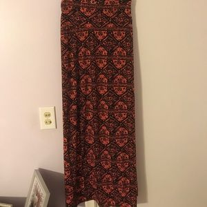 Ultra Flirt Dresses & Skirts - Tribal Print Maxi Skirt