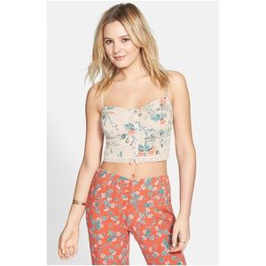 Billabong Cropped Floral Top