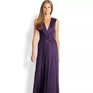 L'AGENCE Dresses & Skirts - L'AGENCE Gathered Wrap Effect Dress L 10-12-14