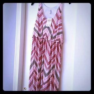 Auditions Dresses & Skirts - NWT Chevron Maxi Dress *Reposh*