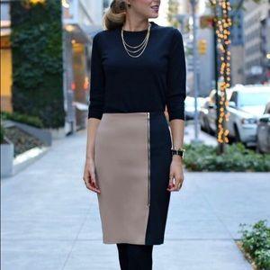 Ann Taylor Dresses & Skirts - Ann Taylor 2 Toned Pencil Skirt