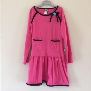 Dollie & Me Other - Pink drop waist Dollie & me dress