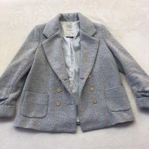 Anthropologie Cartonnier 3/4 blazer