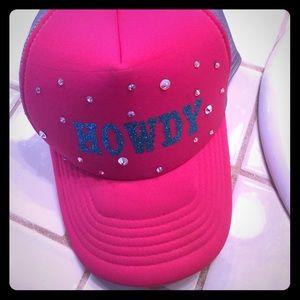 Accessories - Hot pink trucker hat