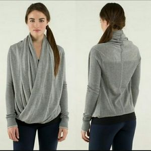 Lululemon two-way sweater