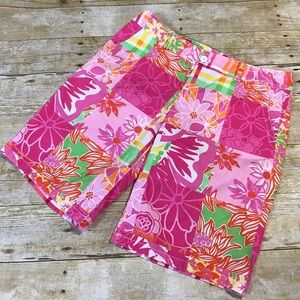 Lilly Pulitzer Pants - Lilly Pulitzer Patchwork Shorts