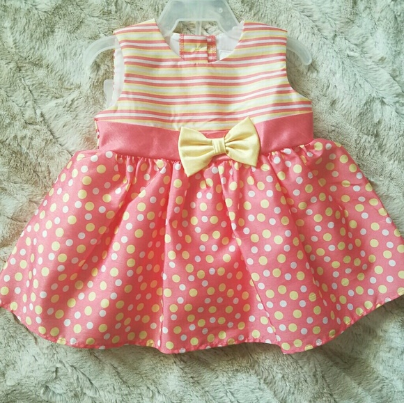 George Other - Baby Girl Polka Dot Dress