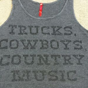 Tops - FINAL: Trucks Cowboys and Country Music tank