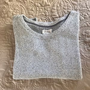 [Lou & Grey] 3/4 Sleeve Sweater
