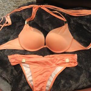 Victoria's Secret Other - VS orange 2 piece bikini like New