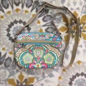 Oilily Handbags - 🌺Like New Oilily Floral Crossbody Purse🌺