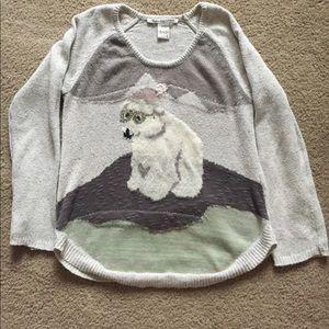 American Rag polar bear sweater... Medium