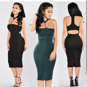 Fashion Nova Dresses & Skirts - Black Fashion Nova Dress