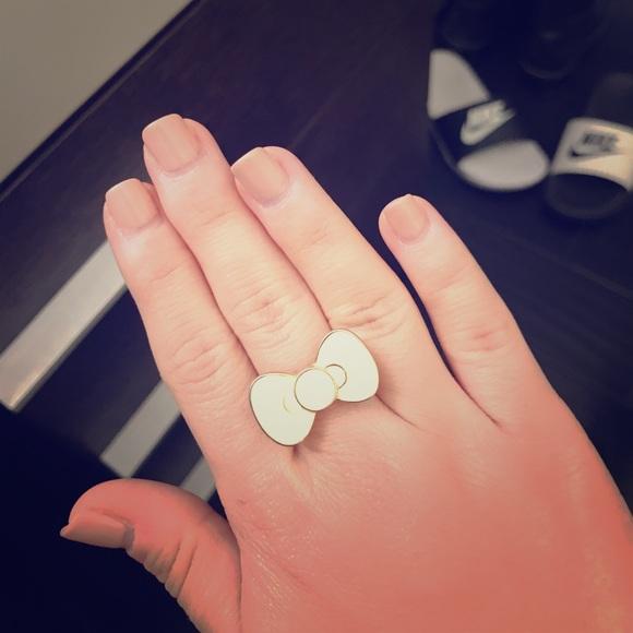 18f86e13e Hello Kitty Jewelry | Bow Ring | Poshmark