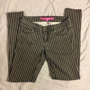 Tinseltown Denim - Pin Stripe Jeggings