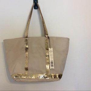 Kate Landry Handbags - 4 DAY SALE 🤑 Sequin trimmed canvas bag