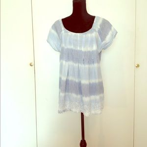 Art And Soul Tops - 100% Cotton Striped, lite, cool top