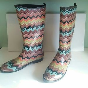 Missoni Shoes - Missoni for Target Chevron rain boots.