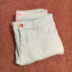 refuge Denim - Light Blue Skinny Jeans