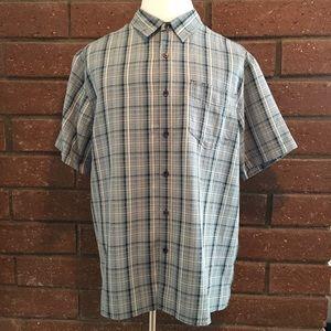 Royal Robbins Other - 🆕 Blue & White Plaid Shirt