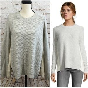 Rebecca Taylor Sweaters - 🏳Rebecca Taylor Cashmere Blend Gray Zip Sweater