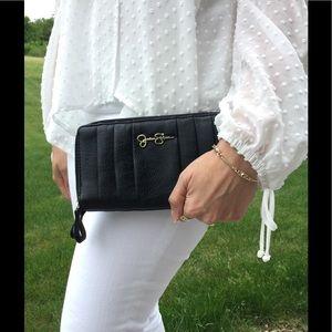 Jessica Simpson Handbags - Jessica Simpson Black Wallet