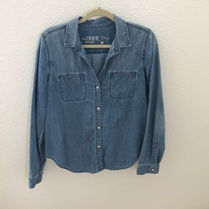 Gap Denim Button Down