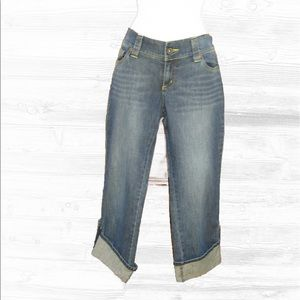 DKNY Denim - Like-new! DKNY Cropped Convertible Jeans-9