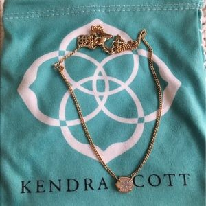 Kendra Scott Jewelry - Kendra Scott - Rose Gold Drusy necklace